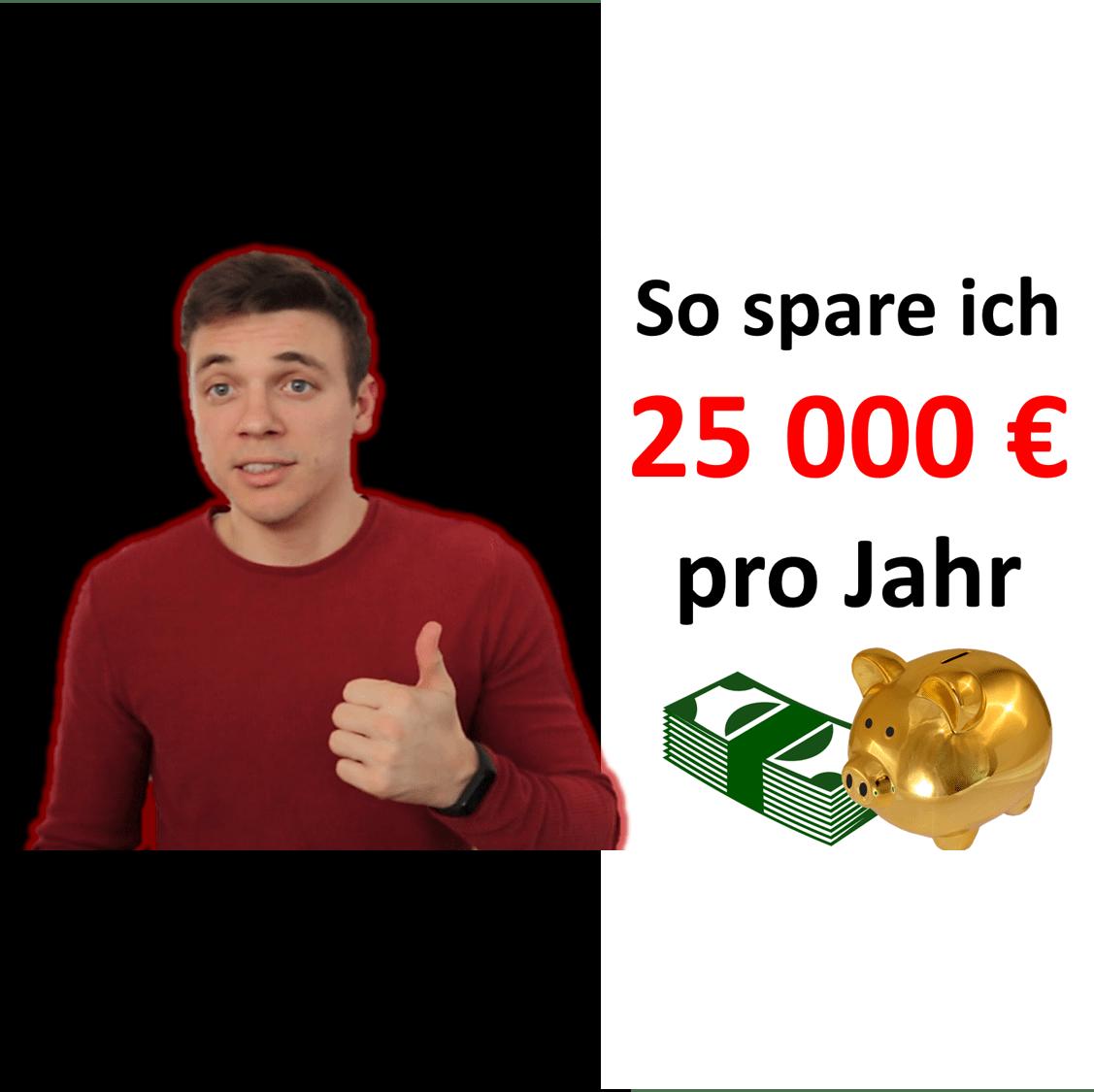 You are currently viewing Frugalismus – So spare ich 25000 € pro Jahr für die Rente mit 45