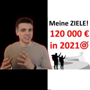 Meine finanziellen Ziele für 2021 - Rente mit 45